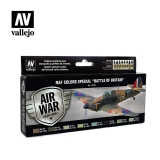 "set Vallejo RAF Colors Special ""Battle of Britain"""
