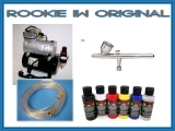 airbrush set Rookie IW original