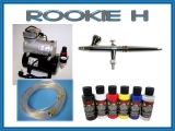 airbrush set Rookie H