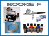 airbrush set Rookie F