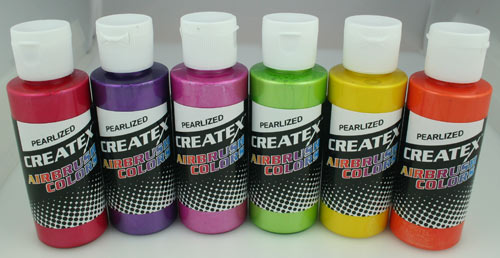 Createx Pearl sampler set 6 X 60 ml