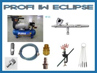 airbrush set Profi IW Eclipse