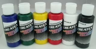 Createx Primary set 6 X 60 ml