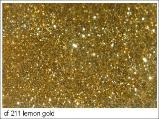 flakes CF 211 lemon gold 0,2 / 25g